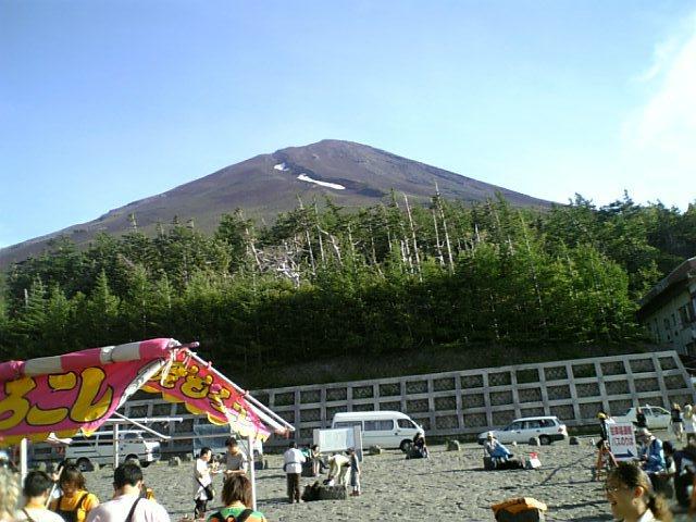 富士山5合め